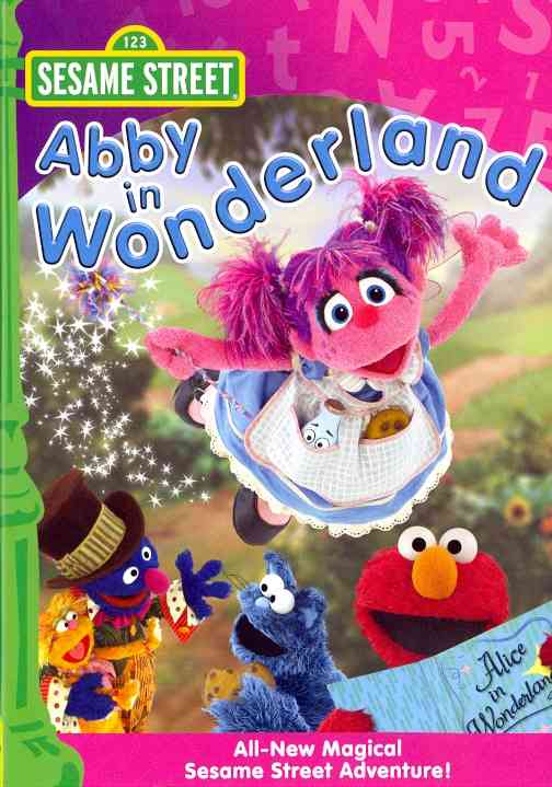 ABBY IN WONDERLAND BY SESAME STREET (DVD)